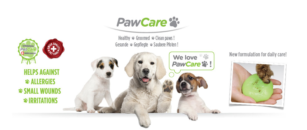 pawcare product banner en